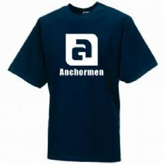 Anchormen T-Shirt - Large Logo - Childs & Adults